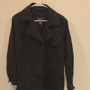 Eddie Bauer black long coat